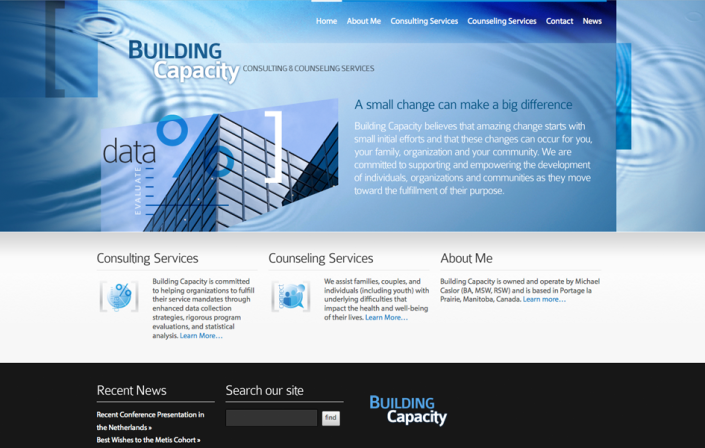 building capacity website