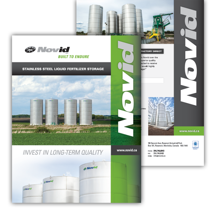 Novid stainless steel bins brochure