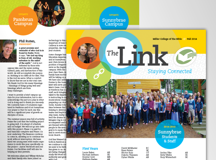 millar college link newsletter